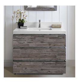 """Fairmont Designs Fairmont Designs 1522-V36 Acacia 36"""" Vanity Organic Brown"""