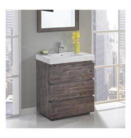 "Fairmont Designs Fairmont Designs 1522-V3018 Acacia 30x18"" Vanity Organic Brown"