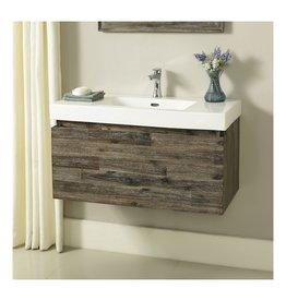 "Fairmont Designs Fairmont Designs 1522-WV3618 Acacia 36x18"" Wall Mount Vanity Organic Brown"