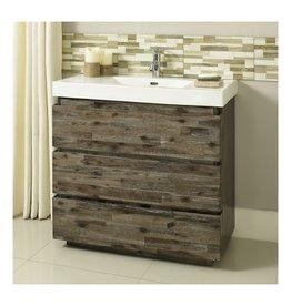 "Fairmont Designs Fairmont Designs 1522-V3618 Acacia 36x18"" Vanity Organic Brown"