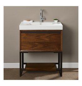 Fairmont Designs Fairmont Designs 1505-VH3018 M4 30x18 Open Shelf Vanity Natural Walnut