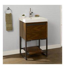 Fairmont Designs Fairmont Designs 1505-VH2118 M4 21x18 Open Shelf Vanity Natural Walnut