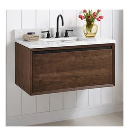 "Fairmont Designs Fairmont Designs 1505-WV36 M4 36"" Wall Mount Vanity Natural Walnut"