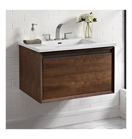 "Fairmont Designs Fairmont Designs 1505-WV30 M4 30"" Wall Mount Vanity Natural Walnut"