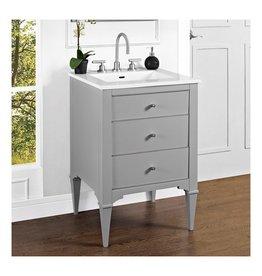 """Fairmont Designs Fairmont Designs 1510-V24 Charlottesville 24"""" Vanity Light Gray"""