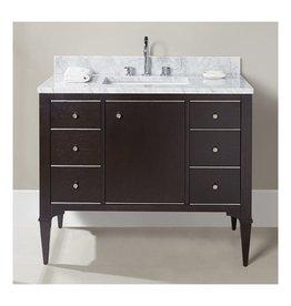 "Fairmont Designs Fairmont Designs 1511-V42A Charlottesville 42"" Vanity Vintage Black"