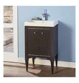 """Fairmont Designs Fairmont Designs 1511-V2118A Charlottesville 21x18"""" Vanity Vintage Black"""