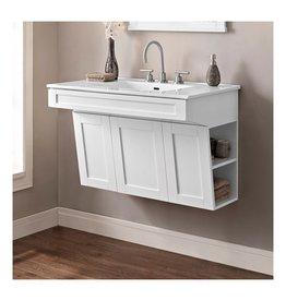 "Fairmont Designs Fairmont Designs 1512-WV3621 Shaker Americana 36"" Wall Mount Vanity Polar White"