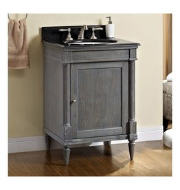 "Fairmont Designs Fairmont Designs 143-V24 Rustic Chic 24"" Vanity Silvered Oak"