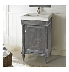"Fairmont Designs Fairmont Designs 143-V2118 Rustic Chic 21x18"" Vanity Silvered Oak"