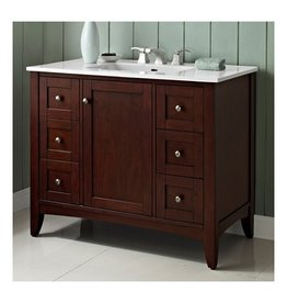 "Fairmont Designs Fairmont Designs 1513-V42 Shaker Americana 42"" Vanity Habana Cherry"