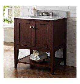 "Fairmont Designs Fairmont Designs 1513-VH30 Shaker Americana 30"" Vanity Open Shelf Habana Cherry"