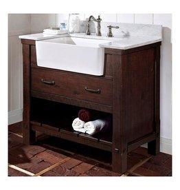 """Fairmont Designs Fairmont Designs 1506-FV36 Napa 36"""" Farmhouse Vanity Aged Cabernet"""