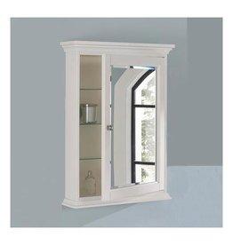 """Fairmont Designs Fairmont Designs 1502-MC24 Framingham 24"""" Medicine Cabinet Polar White"""