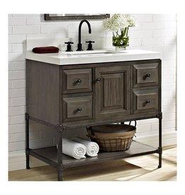 "Fairmont Designs Fairmont Designs 1401-36 Toledo 36"" Vanity Driftwood Gray"