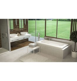 "Mirolin Mirolin BO772 Lux 2"" Drop In Bath White"