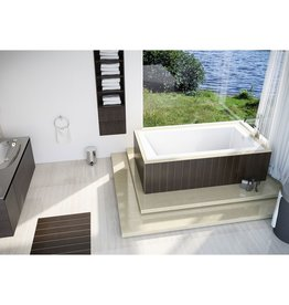 Mirolin Mirolin BO75S Mella SlimLine Drop In Bath White