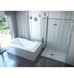 Mirolin Mirolin CH6632S Chaise SlimLine Drop In Bath White