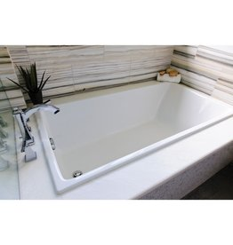 Mirolin Mirolin BO68S Fina SlimLine Drop In Bath White