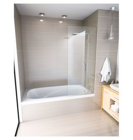 Mirolin Mirolin GR6030 Gryphon Alcove Bath Right White