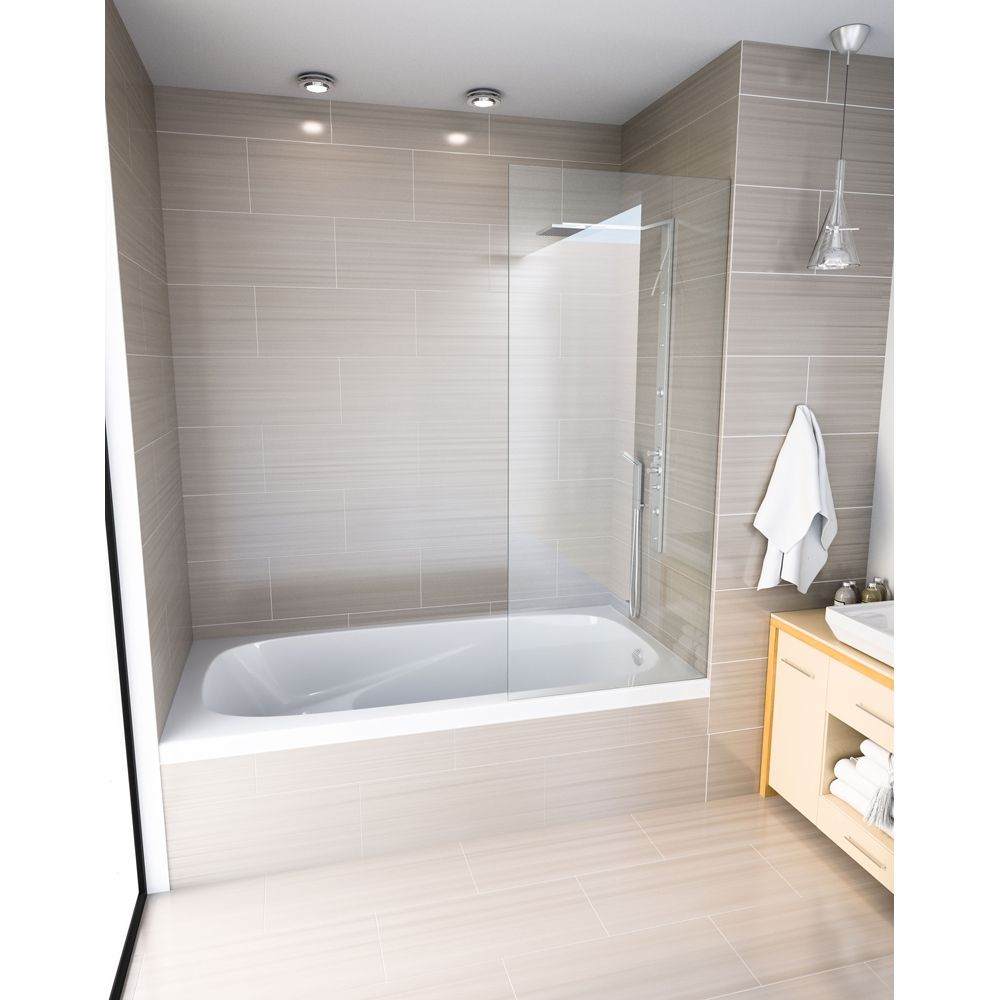 Mirolin Gr6030 Gryphon Alcove Bath Right White Home
