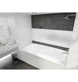 Mirolin Mirolin RV6032 Raven Alcove Bath Right White