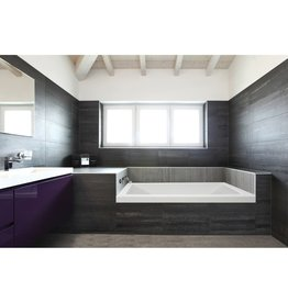 Mirolin Mirolin BO63 Aura Alcove Bath Right White