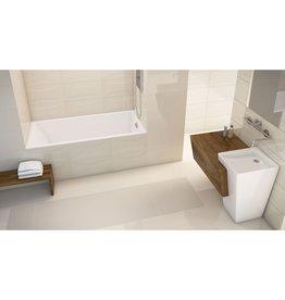 Mirolin Mirolin BO98S Invidia SlimLine Alcove Bath Left White