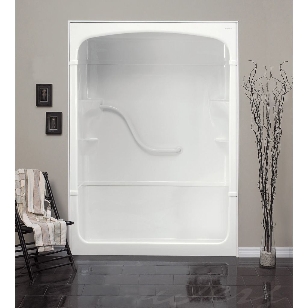 Mirolin SH5LS/RS White Madison 5 Shower Stall With Seat - Home ...