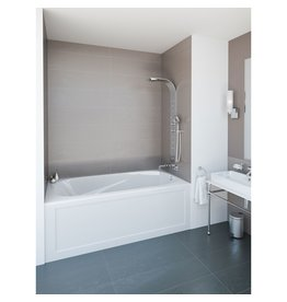 Mirolin Mirolin PA6030L Phoenix Skirted Bath White