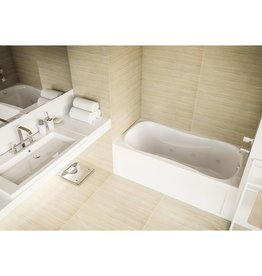 Mirolin Mirolin PS6031L/R Prescott Skirted Bath White