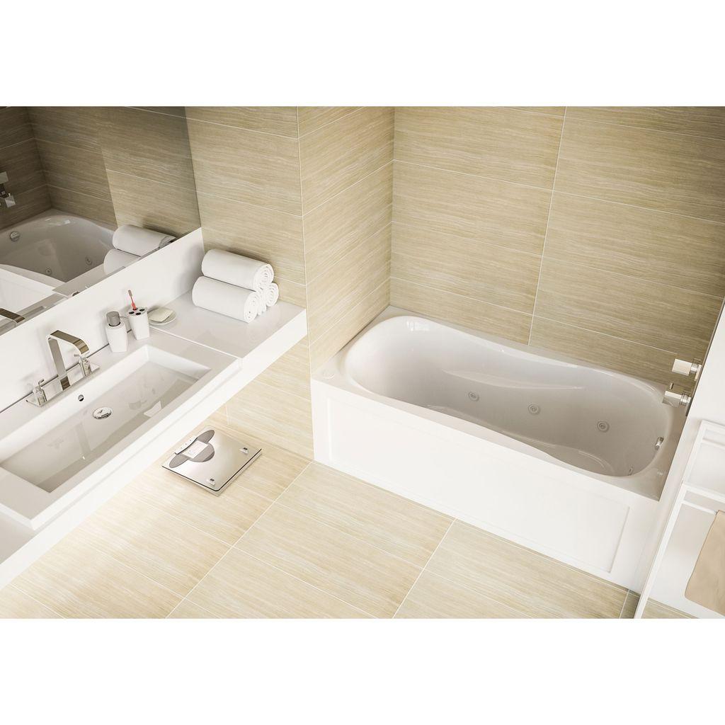 Mirolin PS6031L/R Prescott Skirted Bath White - Home Comfort Centre