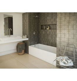 Mirolin Mirolin BO70L/R Austin 16 Skirted Bath White