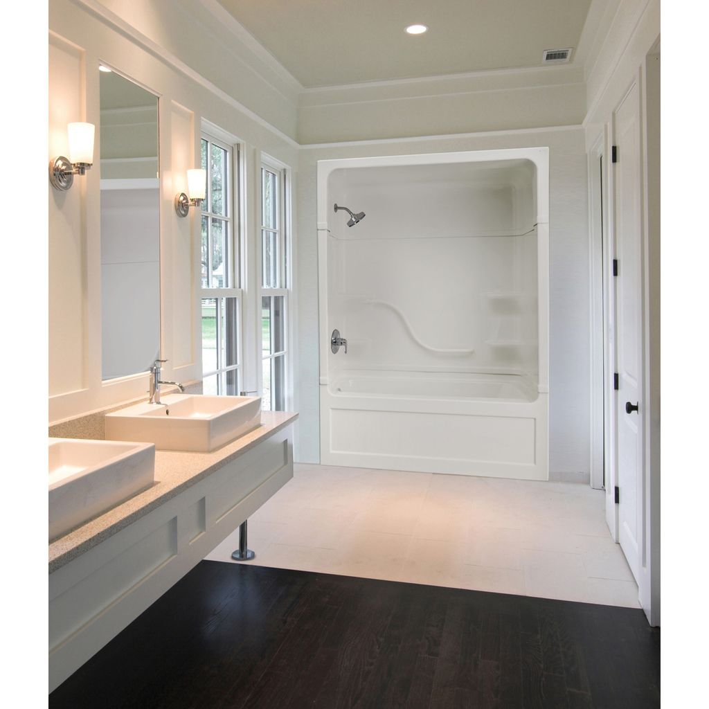 Mirolin PT523L/R Parker 20 Multi Tub Shower White - Home Comfort Centre