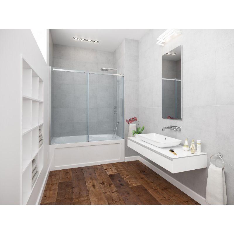 Mirolin Rds60 Elemento Roll Top Door Plain Silver Home