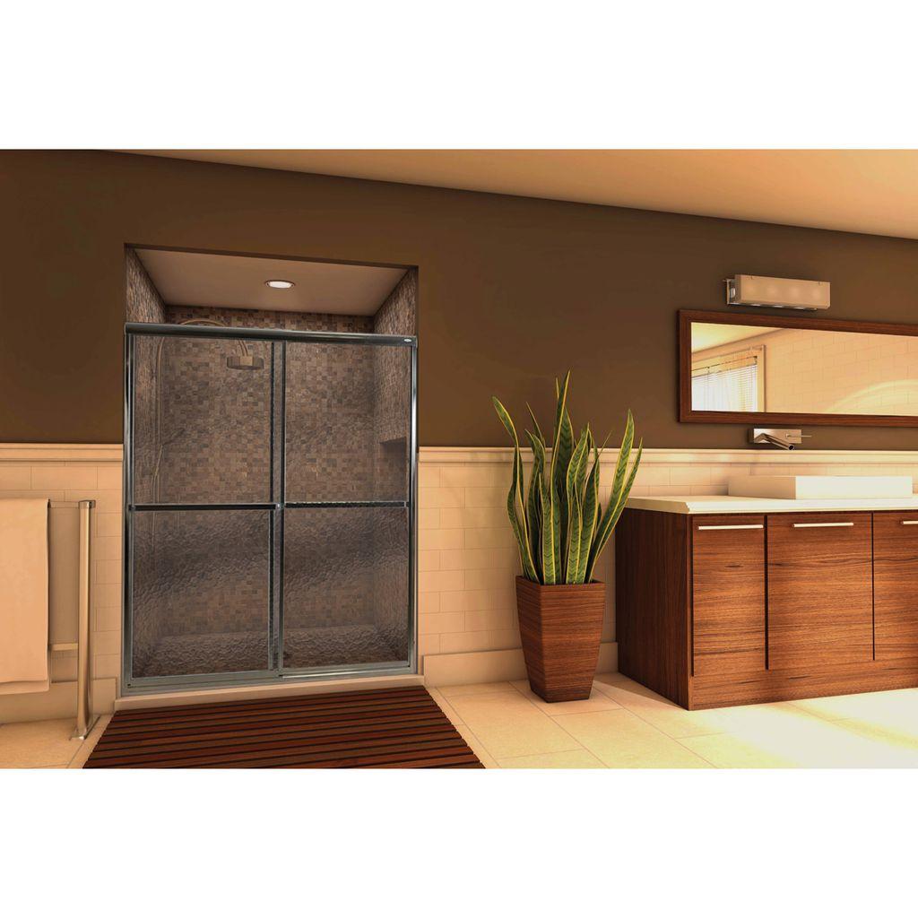 Mirolin Mirolin LDT60AS Framed Bypass Door Pebble Silver ...  sc 1 st  Home Comfort Centre & Mirolin LDT60AS Framed Bypass Door Pebble Silver - Home Comfort Centre