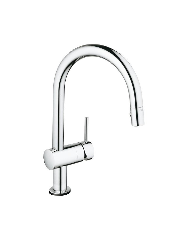 grohe grohe minta touch single handle electronic faucet chrome