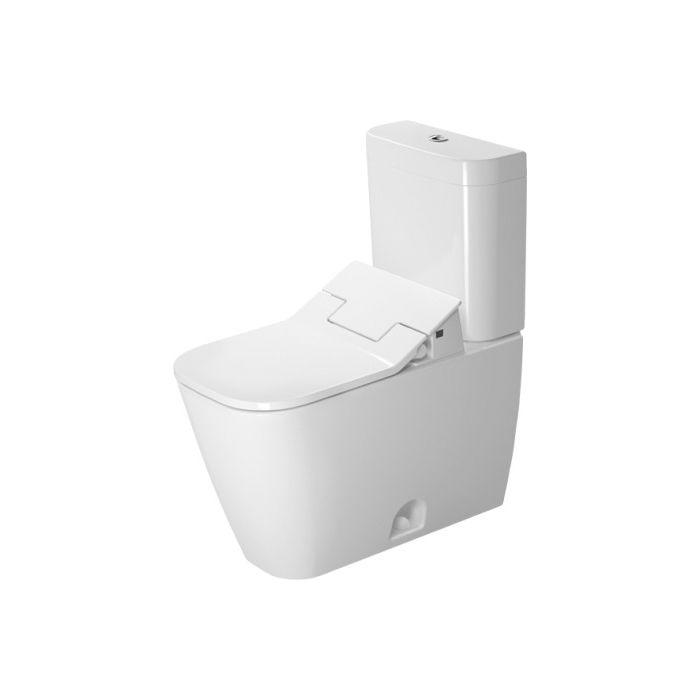 Duravit Sensowash duravit 217451 d 2 two elongated toilet for sensowash