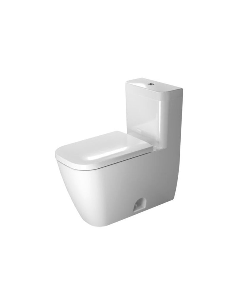 duravit 212101 happy d 2 one piece toilet white hygieneglaze home comfort centre. Black Bedroom Furniture Sets. Home Design Ideas