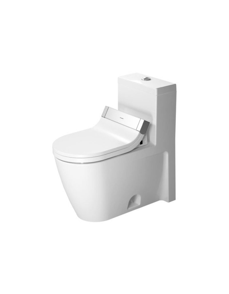 duravit 213351 starck 2 one piece toilet for sensowash. Black Bedroom Furniture Sets. Home Design Ideas