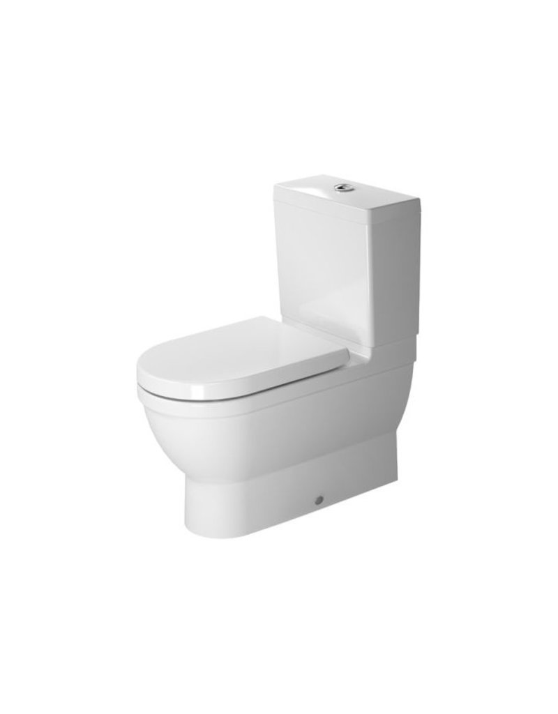 duravit 214109 starck 3 close coupled toilet without tank. Black Bedroom Furniture Sets. Home Design Ideas