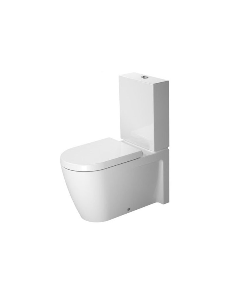 duravit 212909 starck 2 close coupled toilet without tank wondergliss home comfort centre. Black Bedroom Furniture Sets. Home Design Ideas