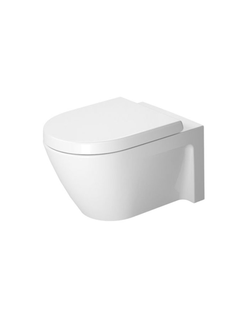duravit 253409 starck 2 wall mounted toilet wondergliss home comfort centre. Black Bedroom Furniture Sets. Home Design Ideas