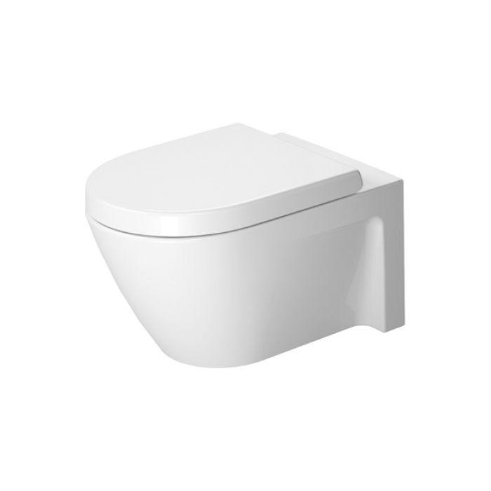 Duravit 253409 Starck 2 Wall Mounted Toilet WonderGliss - Home ...