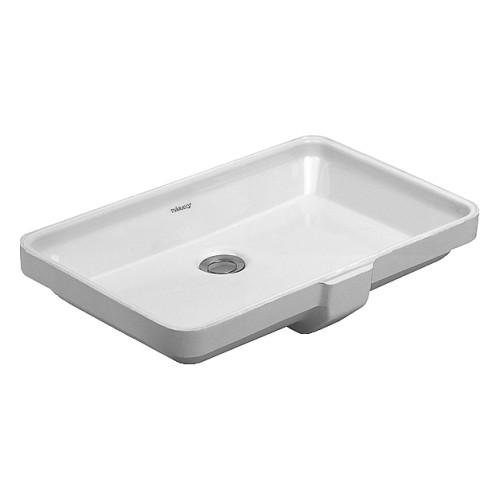 duravit 03165300001 vanity basin 2nd floor rectangle home comfort centre. Black Bedroom Furniture Sets. Home Design Ideas