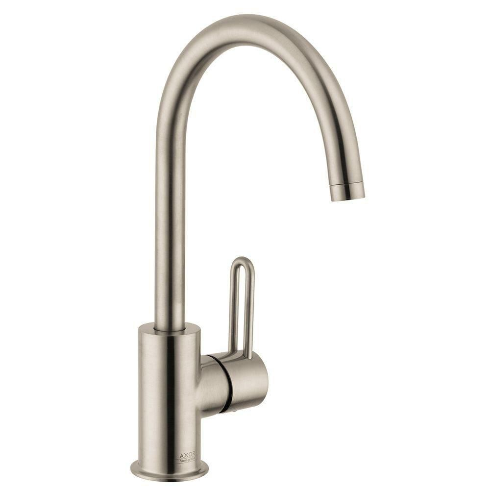 p talis hole faucets hansgrohe sink single bathroom in handle faucet chrome