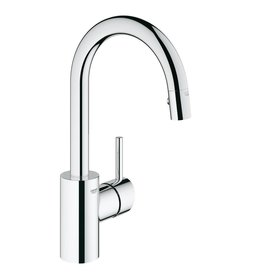 Grohe Grohe 31479000 Concetto Single Handle Kitchen Faucet Chrome