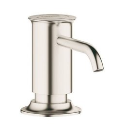 Grohe Grohe 40537DC0 Authentic Soap Dispenser Brushed Nickel