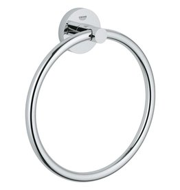 Grohe Grohe 40365001 Essentials Towel Ring Chrome