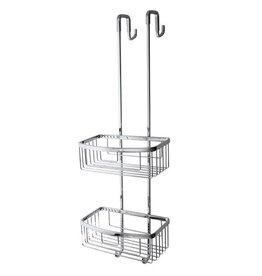 Laloo Laloo 9101C Hanging Wire Basket Chrome